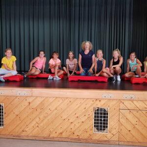 Dance-Aerobic mit Hilde und Sabrina <br/>Kinder von 7 bis 12 Jahren <br/>Montag, 02.08.21