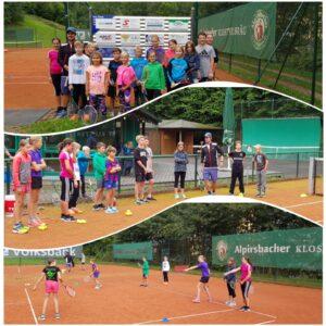 Tennis spielen wie die Profis<br/> bis 9 Jahre<br/>Freitag, 20.08.21